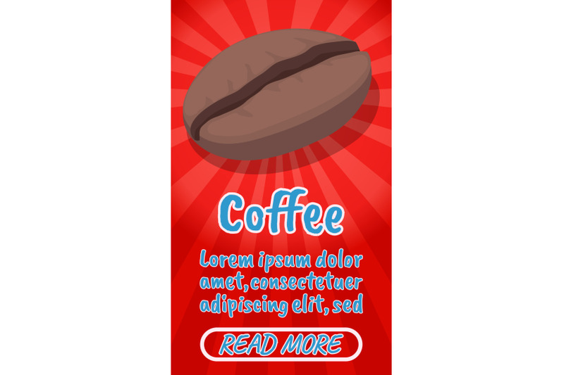 coffee-concept-banner-comics-isometric-style