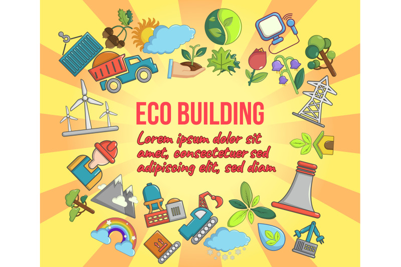 eco-building-concept-banner-cartoon-style