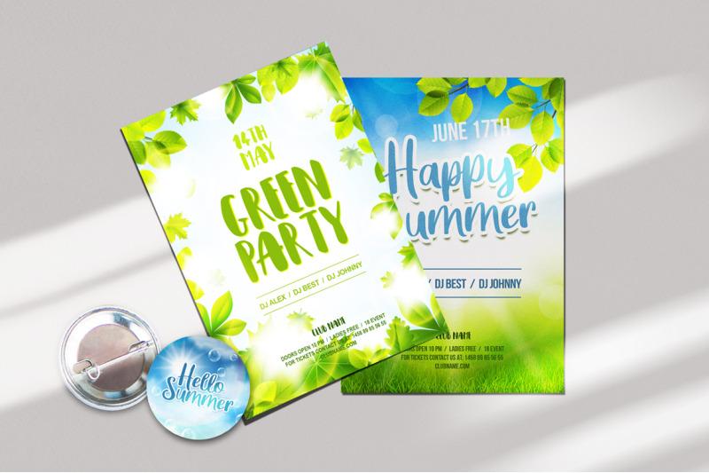 green-summer-vector