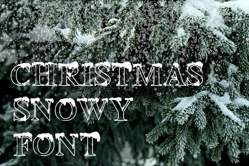 christmas-snowy-font