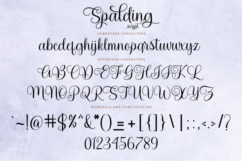 spalding-script