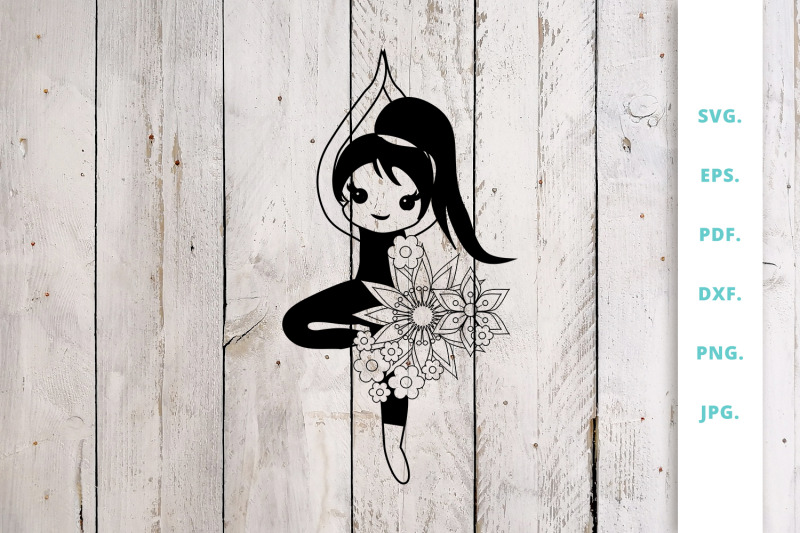 floral-cute-yoga-girl-cut-file-2