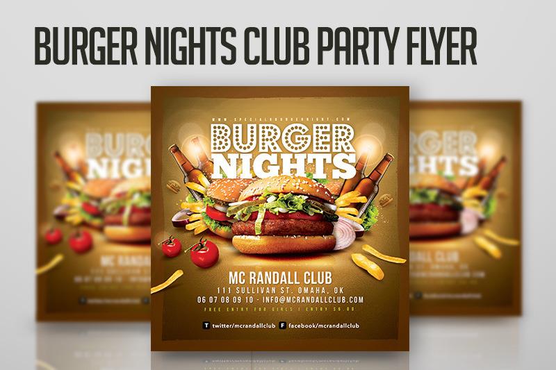 burger-nights-club-party-flyer