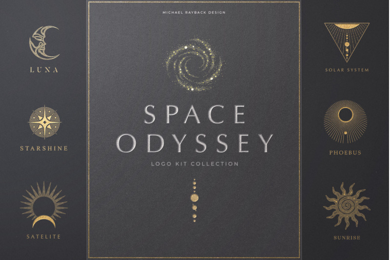 space-odyssey-logo-collection
