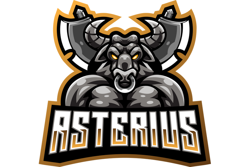 asterius-esport-mascot-logo-design