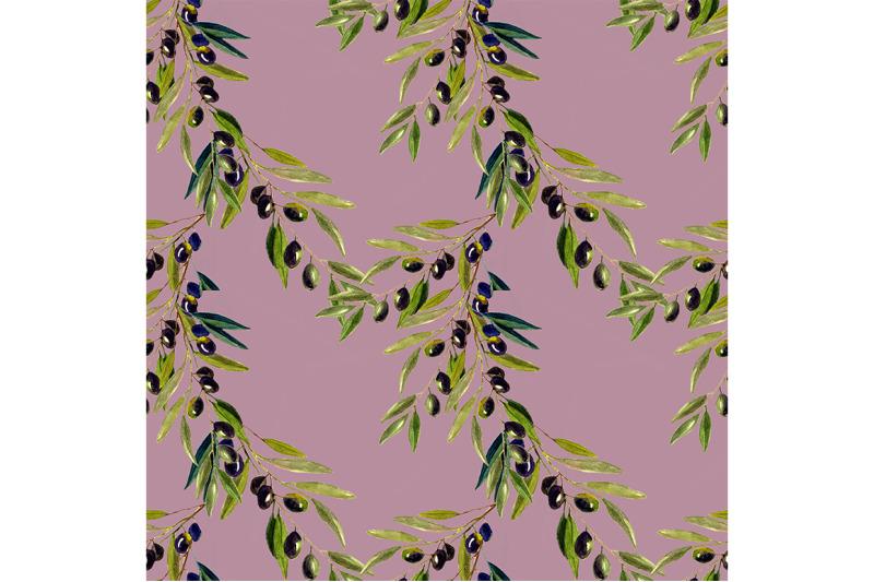 seamless-olive-nbsp-nbsp-pattern