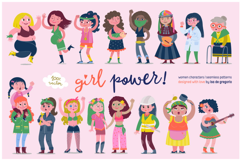 girl-power-women-characters