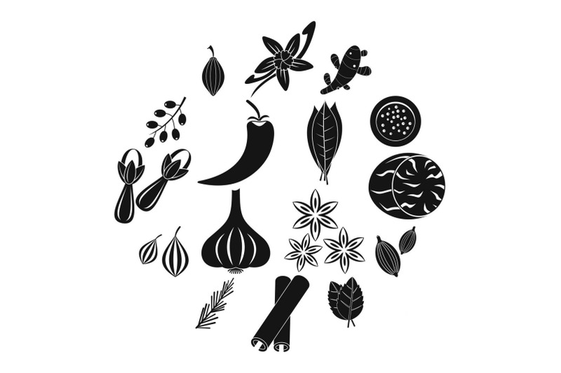 spice-icons-set-simple-style