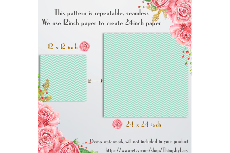 16-seamless-luxury-mint-spring-happy-easter-digital-papers