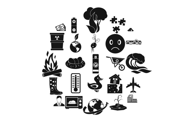 torrid-icons-set-simple-style