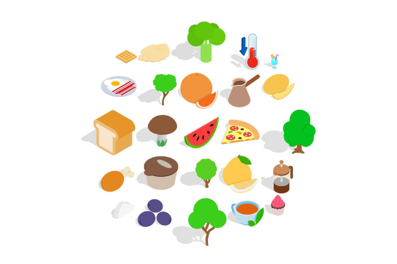 body-cleansing-icons-set-isometric-style