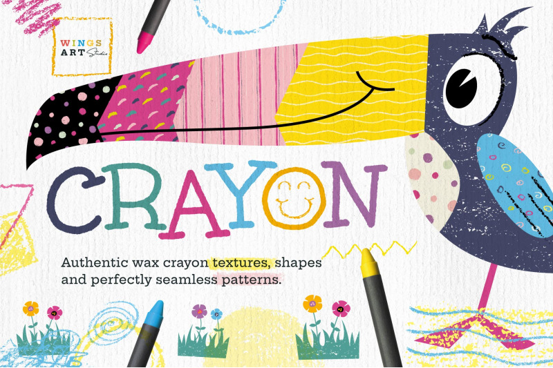 wax-crayon-textures-and-patterns