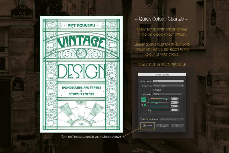 vintage-art-nouveau-design-templates