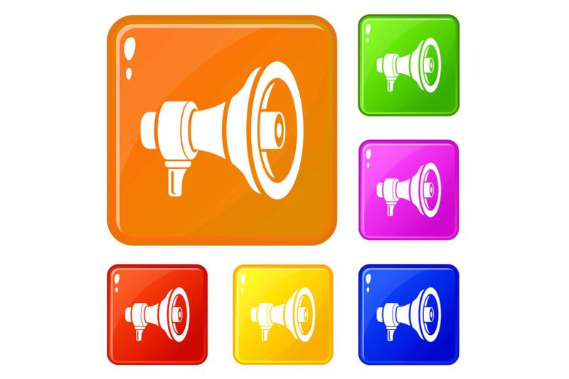 speaker-icons-set-vector-color