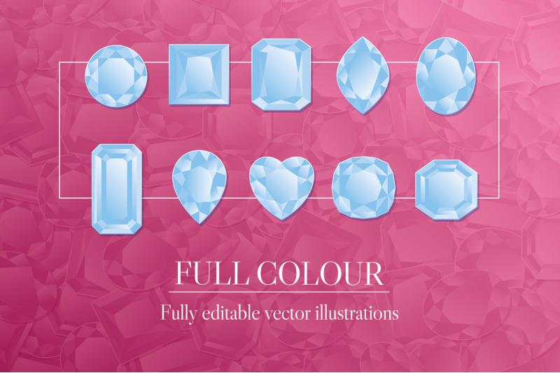 diamonds-illustration-collection