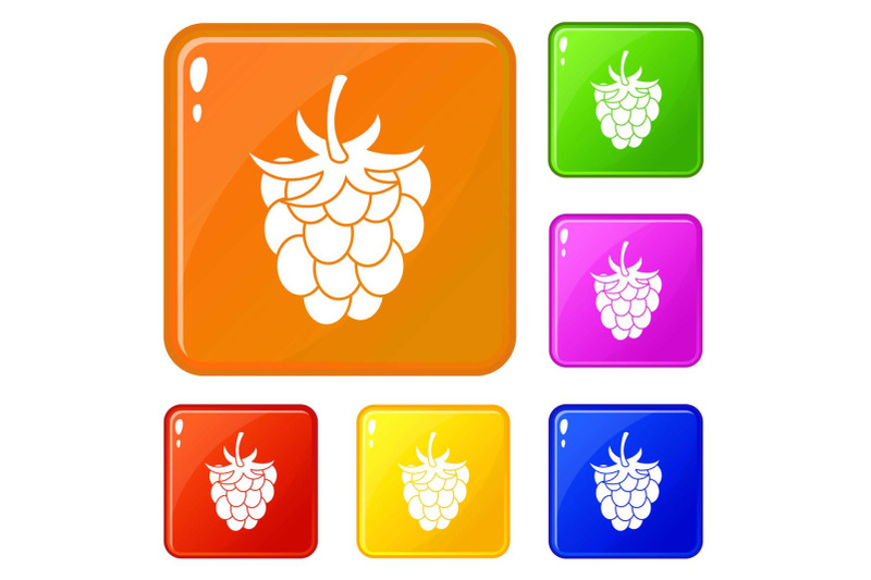 raspberry-or-blackberry-icons-set-vector-color