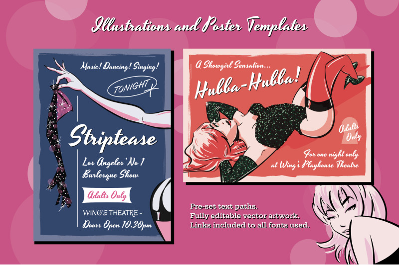 pin-up-illustrations-and-poster-templates