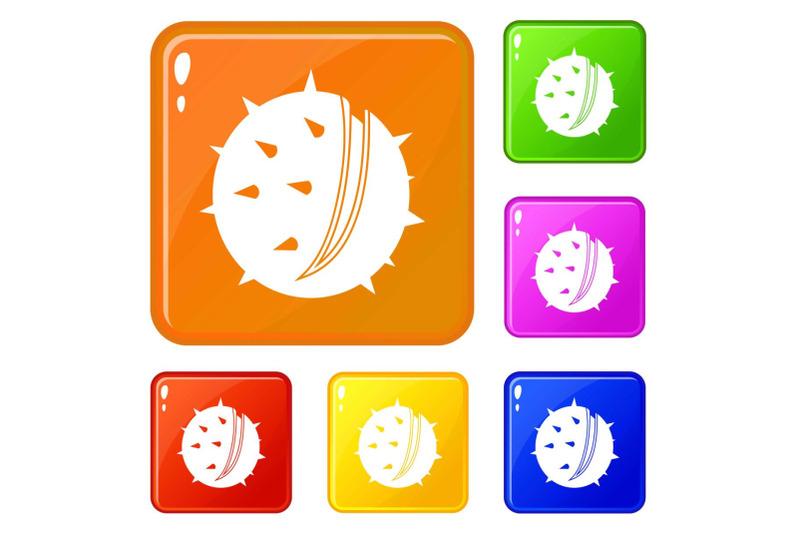 chestnut-icons-set-vector-color