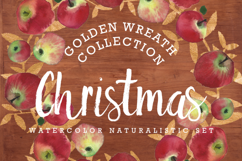 christmas-golden-and-watercolor-art