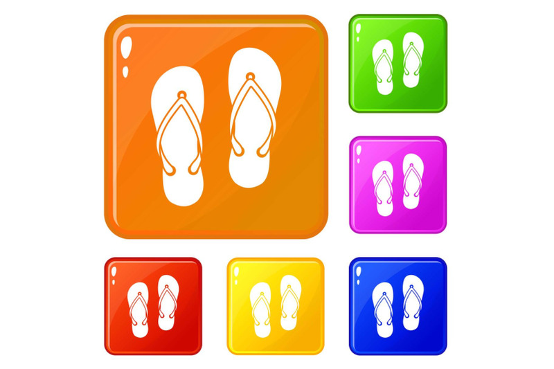slates-icons-set-vector-color