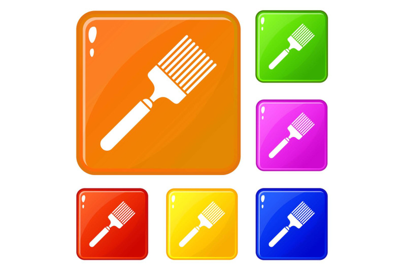 brush-icons-set-vector-color