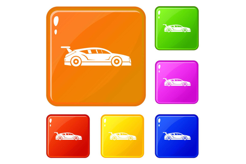 rally-racing-car-icons-set-vector-color