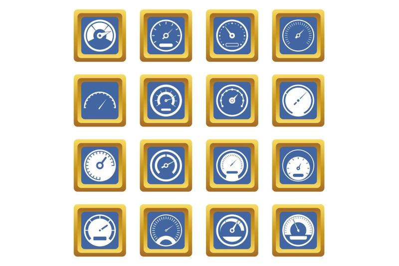 speedometer-icons-set-blue
