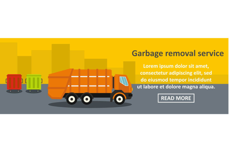 garbage-removal-service-banner-horizontal-concept