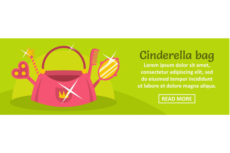 cinderella-bag-banner-horizontal-concept