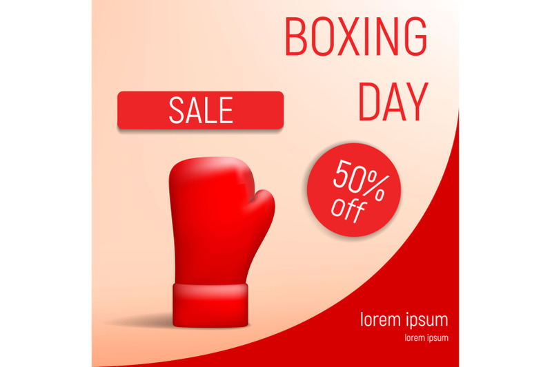 boxing-day-sale-concept-background-realistic-style
