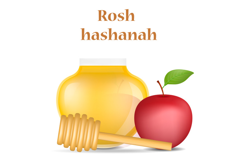 rosh-hashanah-holiday-concept-background-realistic-style