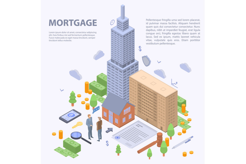 mortgage-building-concept-background-isometric-style