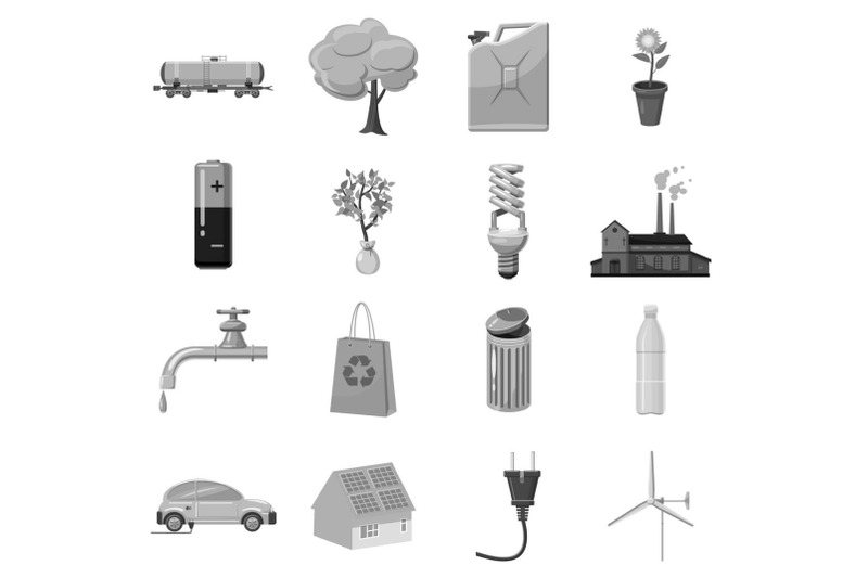 ecology-and-environmental-icons-set