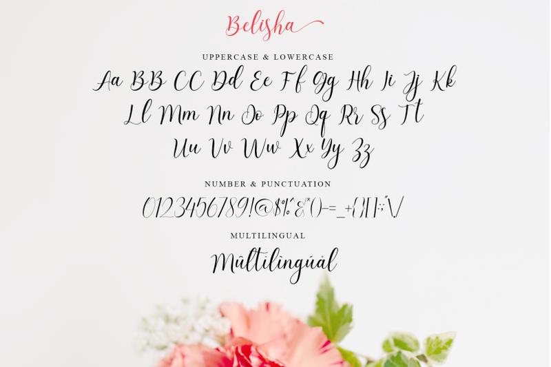 belisha-modern-script