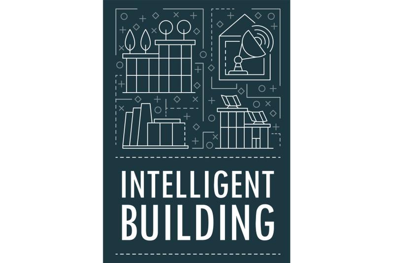 modern-intelligent-building-banner-outline-style