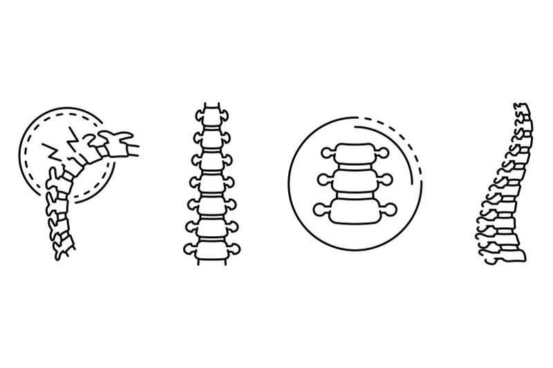 spine-icon-set-outline-style