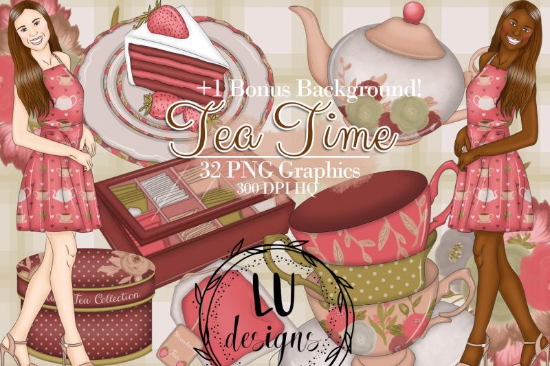 tea-time-clipart-tea-graphics-tea-party-illustrations