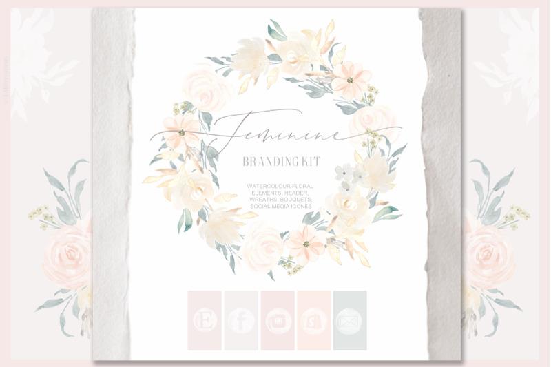 feminine-nude-amp-blush-pink-watercolor-flowers-branding-kit