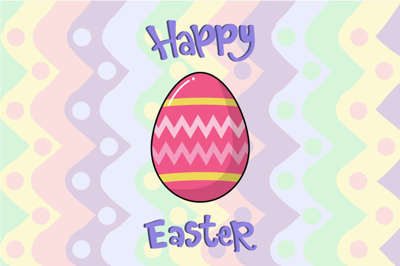 easter-pink-yellow-egg