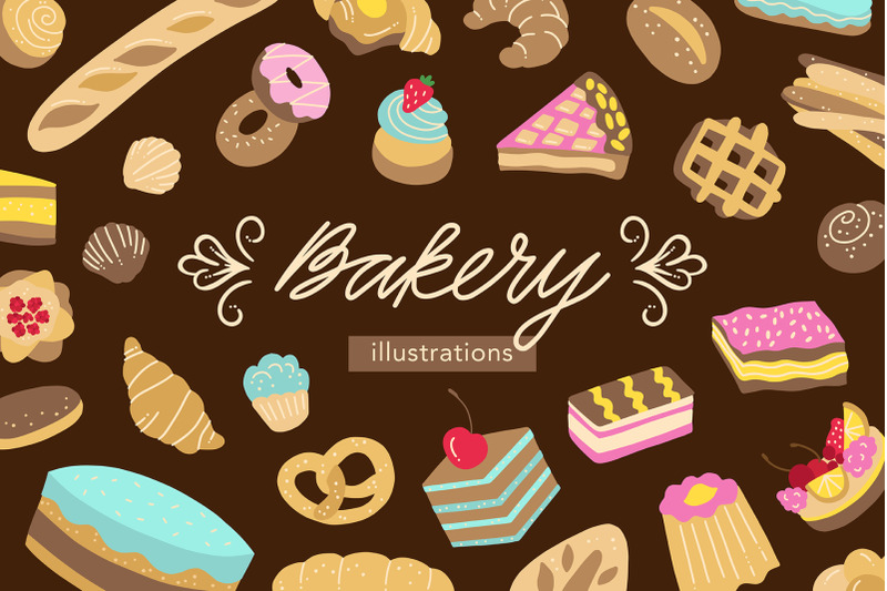 bakery-illustrations