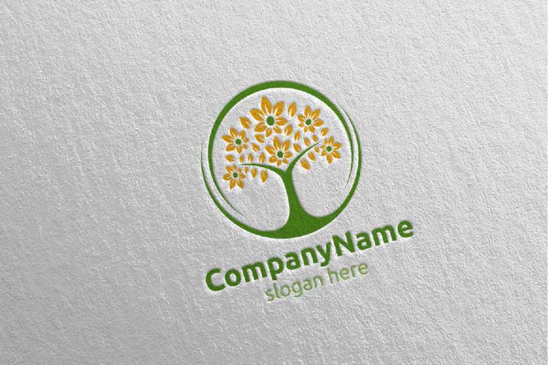 tree-digital-financial-investment-logo