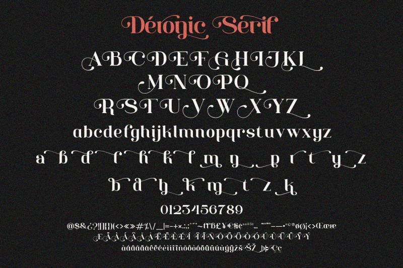 deronic-font-duo