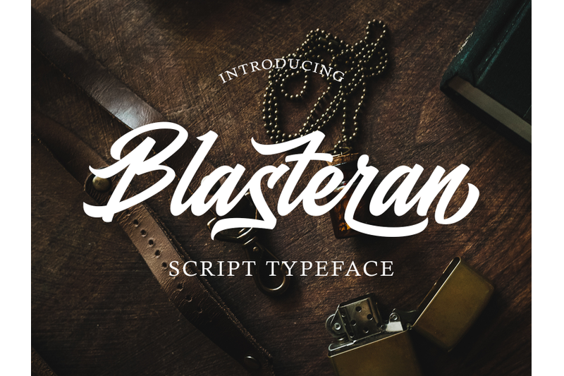 blasteran-script-typeface