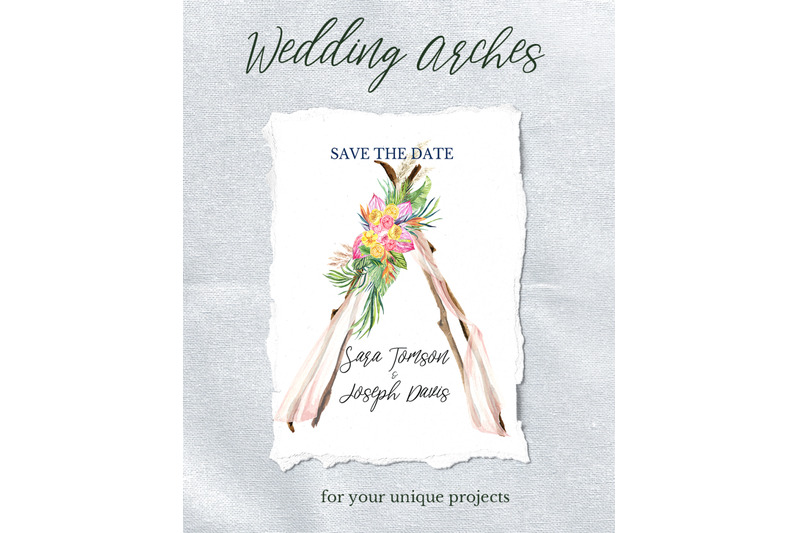 watercolor-arch-boho-wedding-clipart