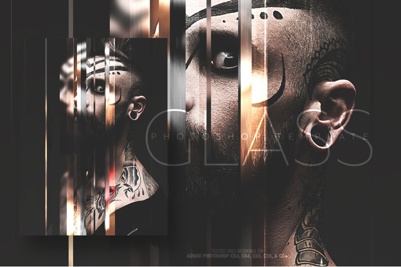glass-photo-template