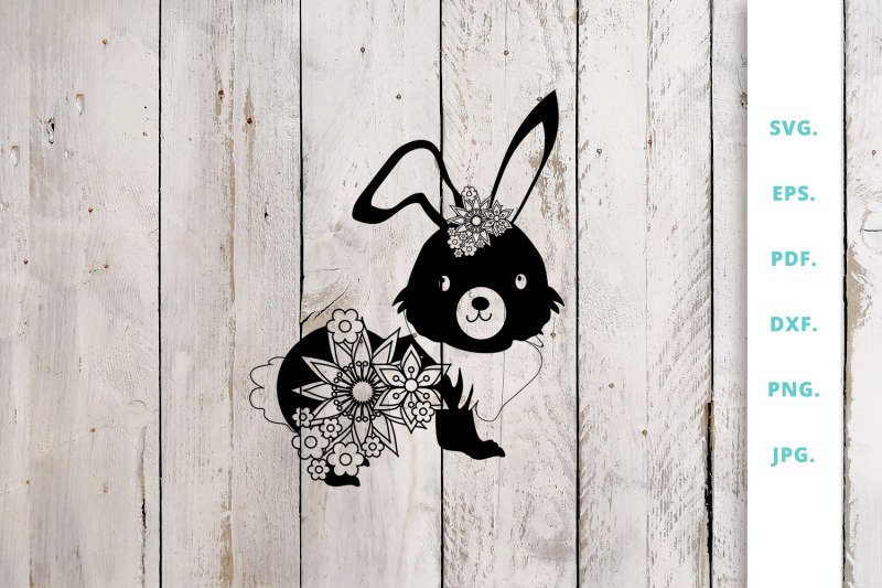 floral-easter-bunny-cut-file-2