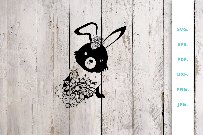 floral-easter-bunny-cut-file-3