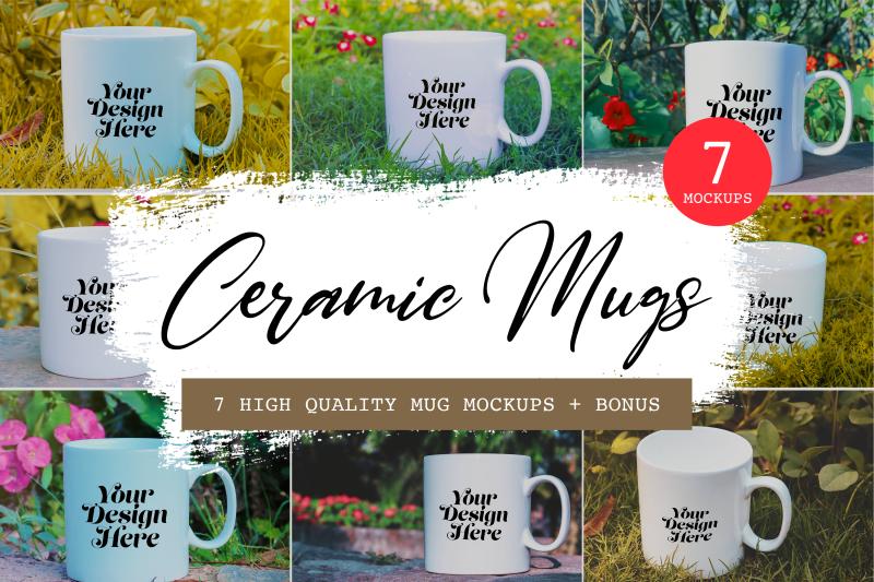 Download 7 High-quality Mug Mockups + images, Photoshop mockups, 11 PNG Images Free Mockups