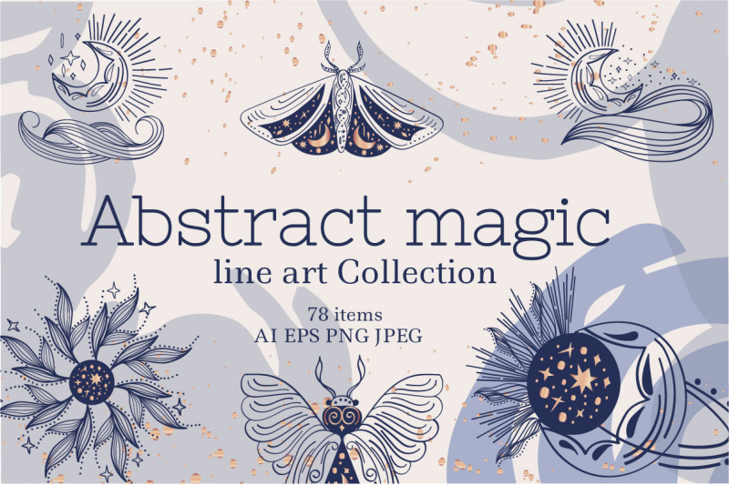 abstract-magic-line-art-collection