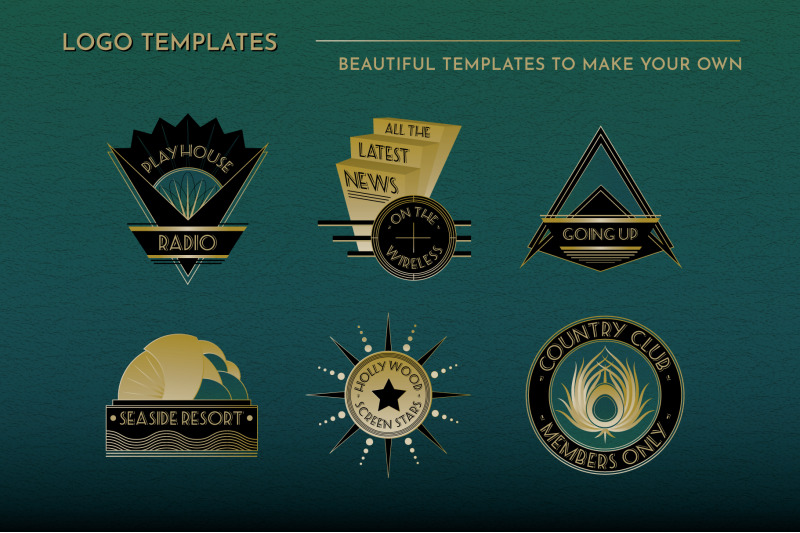 art-deco-logos-vol-2